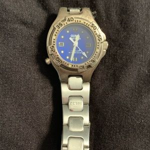 Guess metal watch